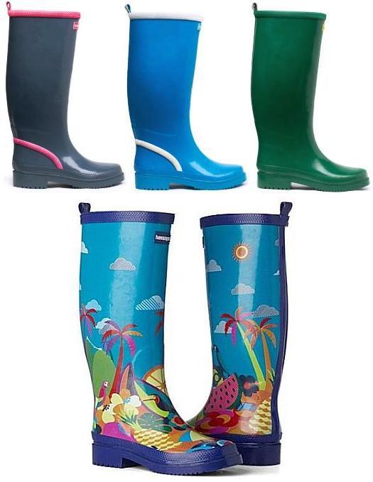 002d4620531 Galochas Havaianas  moda emborrachada para tempo chuvoso - Amo Sapatos