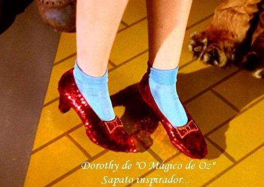 Alerta de tendência: sapatos purpurinados