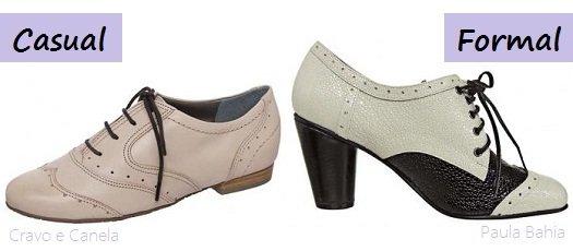 f73c4779f Como usar oxford feminino? - Amo Sapatos