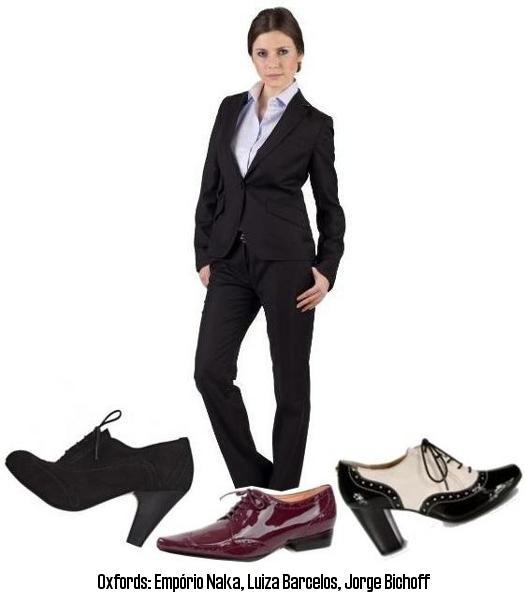5f99f1836b Trabalho  sapato oxford + roupa social - Amo Sapatos