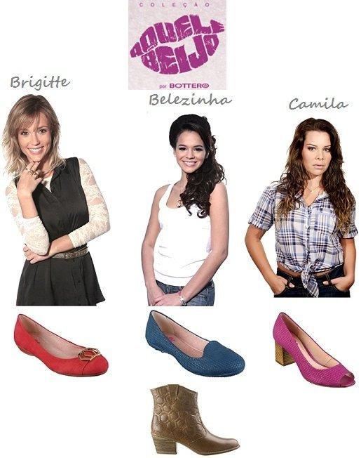 """142dfee16 Sapatos da novela """"Aquele Beijo"""" por Bottero - Amo Sapatos"""