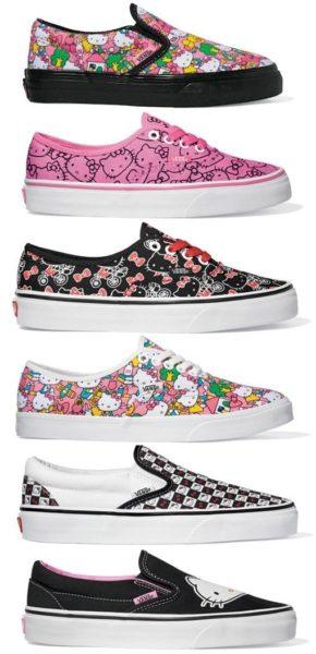 073f92803c8 Tênis Vans da Hello Kitty no Brasil - Amo Sapatos