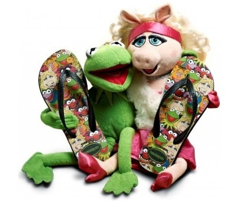 Chinelo Havaianas Muppet Babies