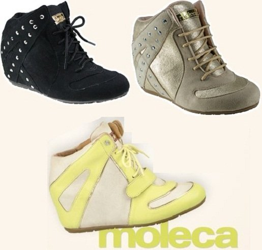 Moda 2013: sneakers Moleca