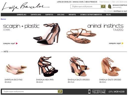 d22c7d5ee Comprar Luiza Barcelos  nova loja virtual para a alegria dos pezinhos