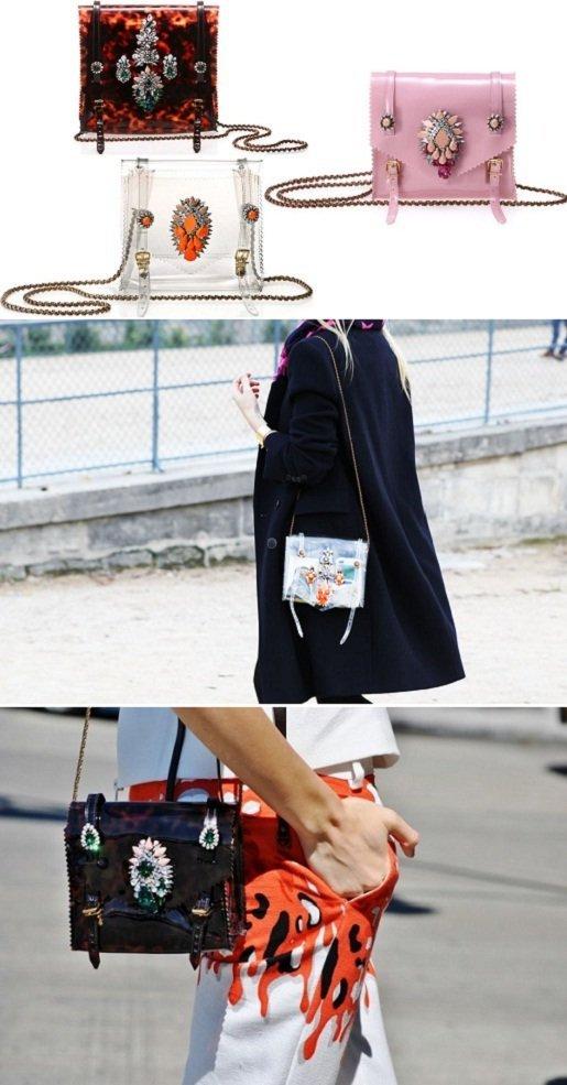 As famosas bolsas Shourok