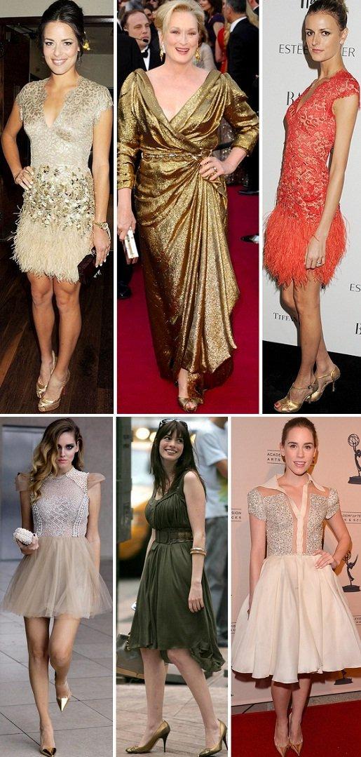 Bolsa Dourada Combina Com Que Roupa : P? na moda como usar sapato dourado amo sapatos