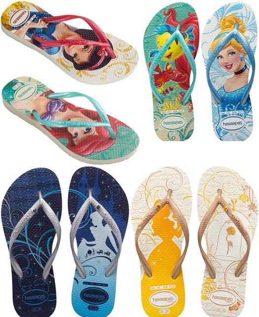 Chinelo infantil - Havaianas Kids Slim Princess